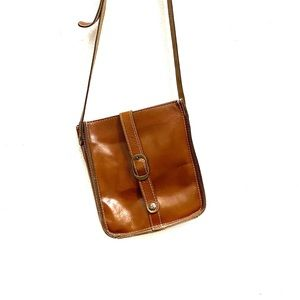 Patricia Nash Boho Venezia Leather Crossbody Bag